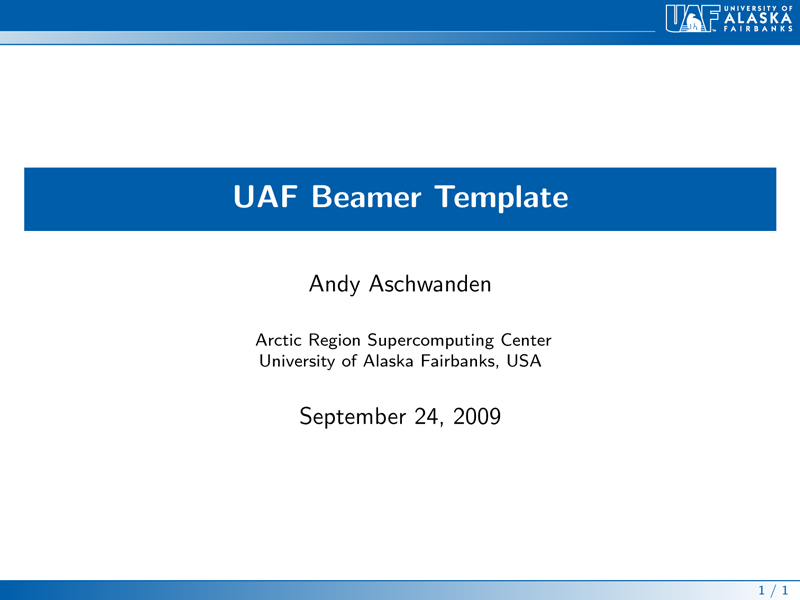 thesis beamer Lyx's thesis template since version 20 lyx comes with a thesis template you find it in lyx's installation folder in the subfolder resources\examples\thesis note: if the title.